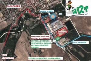 Plano II Trail Serrucho Alalpardo