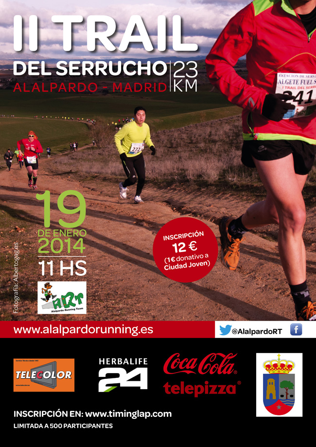 cartel II trail serrucho web